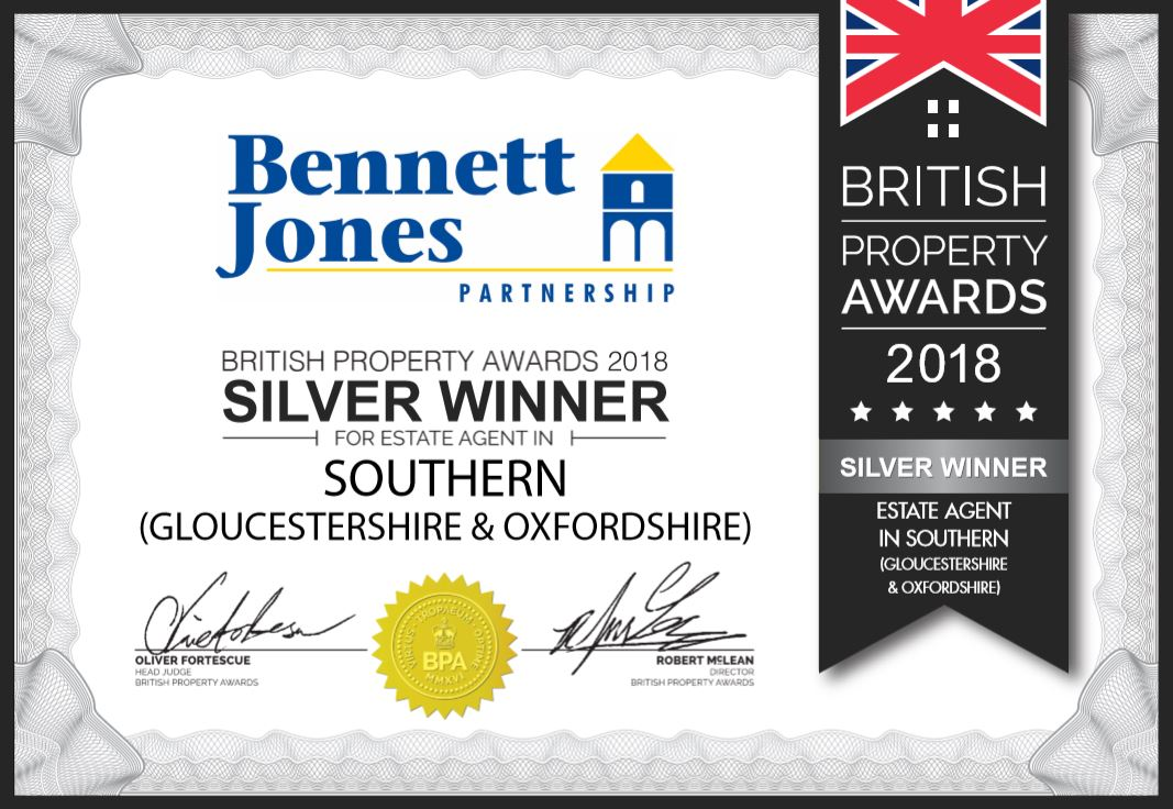 Bennett Jones wins Silver Award for Gloucestershire and Oxfordshire